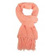 Yancy dámská zimní šál světle růžová