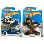 Hot Wheels 2016 HW Snow Stormers Snow Stormer & So Plowed 2-Car Bundle Set