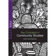 Key Concepts in Community Studies by Tony Blackshaw