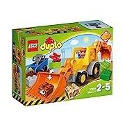 LEGO 10811 Duplo Town Backhoe Loader Construction Set - Multi-Coloured