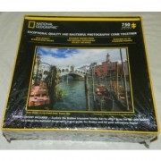 2012 national geographic puzzle rialto bridge on the grand canal venice italy 750 piece puzzle 24 w x 18 h