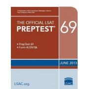 Official LSAT Preptest 69 by Law School Admission Council