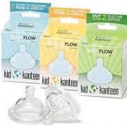 Kid Kanteen Baby Bottle Nipple Replacement Set
