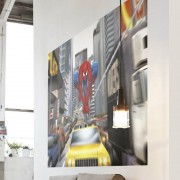 Poster Géant Spiderman Rush Hour