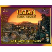The Settlers of Catan: Traders and Barbarians 5-6 players expansion