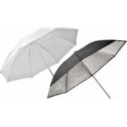 Elinchrom 26062 Umbrella Set Silver-Translucent 83cm