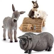 Schleich Animales de granja - 13746, 13747,13748 (3 partes)
