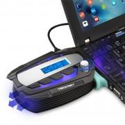 TeckNet N10 Notebook Portable Vacuum Cooler - охлаждаща приставка за Mac и преносими компютри (черен)