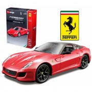 Ferrari 599 GTO rood schaalmodel 1:32