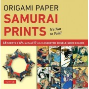 Origami Paper Samurai Prints Small 6 3/4 by Tuttle Publishing