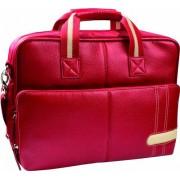Krusell Swedish Design Gaia Laptop Bag Red- 16 inch