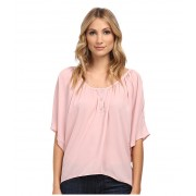 Christin Michaels Celina Top Dusty Rose