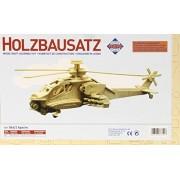 Pebaro 866/2 - Set de manualidades de madera - Motivo: Helicóptero Apache