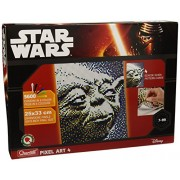 Quercetti Q 0856-4 cuadros De Pixel Art-Yoda-6400 botones
