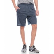 adidas Essential Basketball Shorts Dark Onyx Tech Grey