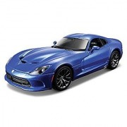 2013 Dodge Viper SRT GTS Blue 1/24 by Maisto 31271