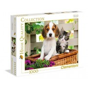 Clementoni 39270 - The Dog And The Cat - Puzzle High Quality Collection 1000 pezzi