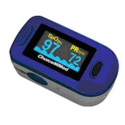 Med Choice Oxigénszintmérő, véroxigénszint mérő, pulzusmérő PULSEOXIMETER szines kijelzővel