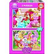 Educa - 16170 - Puzzle Classique - Palace Pets - 2 X 20 Pièces