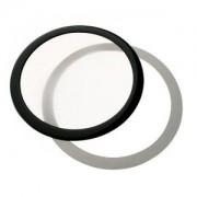 Filtru de praf DEMCiflex Dust Filter Round 200mm - Black/White