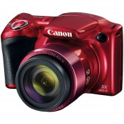 Cámara Canon Powershot Sx420 Is Roja 20 Megapixeles Zoom 42x Wifi Y NFC
