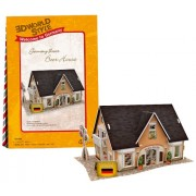puzzle 3D World Style Series Beer House W3126h