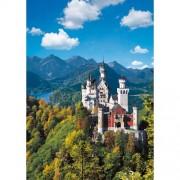 Puzzle Castelul Neuschwanstein, 1000 piese, RAVENSBURGER Puzzle Adulti