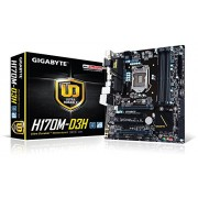 Gigabyte H170M-D3H - DDR4 6th Generation MotherBoard (H170 Chipset, LGA1151, DDR4, mATX)