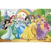 Clementoni 27856 - Puzzle Butterfly Princess, 104 pezzi