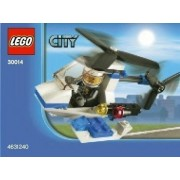 Lego City Police Helicopter Mini Set 30014 - Bagged, 32 pieces