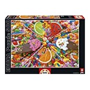 Educa 16271 - Sweets Jigsaw Puzzle 500 Pieces