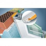 Profil de protectie ferestre si usi din PVC cu buza Protektor