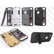 Apple iPhone 7 (калъф hybrid + стойка) 'Transformer style'