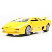 Bburago 2011 Bijoux 1:24 Scale Yellow Lamborghini Diablo