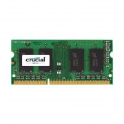 Crucial 4GB Single DDR3 1866 MT/s (PC3-14900) SODIMM 204-Pin Single Ranked Memory - CT51264BF186DJ