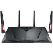 Безжичен рутер ASUS RT-AC88U, Wi-Fi AC3100 Dual-band Router with AiProtection Powered by Trend Micro, 8 Gigabit LAN ports, 90IG01Z0-BM3100