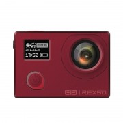Preorder Elephone Caméra Action REXSO Explorer 4K - Capteur IMAX Sony, vision nocturne, IP68, double affichage, 4K, image 16MP (rouge)