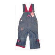 The childrens Place - Salopeta captusita jeans pink