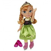Disney Frozen Anna with Ice Skating Fashions and Skates Role Play Set