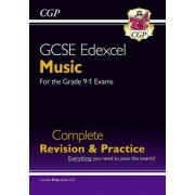 New GCSE Music Edexcel Complete Revision & Practice (with Audio CD) - For the Grade 9-1 Course by CGP Books