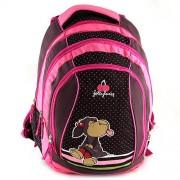 NICI 16553 Children's Backpack, Black/ Red