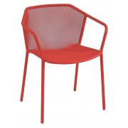 Emu Darwin Stuhl Mit Armlehnen Stuhl Scarlet Red