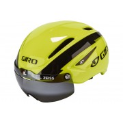 Giro Air Attack Shield Helmet Highlight Yellow/Black 59-63 cm Rennradhelme