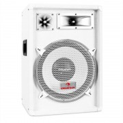 Malone PA-Box Auna™ PW 1222 Altifalante 30cm 600 W branco