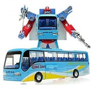 Mallya Transformers Distortion Bus Changer Transform Into Bus Action Figure Toy