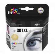 Tb-TBH 301XLCR CH564EE cartucho de inyección de tinta