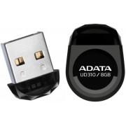 Stick USB A-DATA UD310 8GB, Waterproof, Rezistent la socuri (Negru)