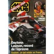 Moto Revue N° 2742 Du 13/03/1986 - Special Usa. Daytona : Lawson, Record De L'epreuve. Custom : Ce Qui Existe En France. Vimond Leader !