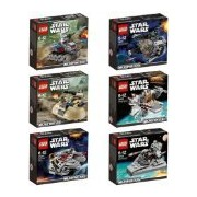 LEGO STAR WARS MicroFighters 6 pcs set 2014 New released (75028, 75029, 75030, 75031, 75032, 75033)