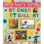 My Very First Sticker Art Gallery by Sam Lake